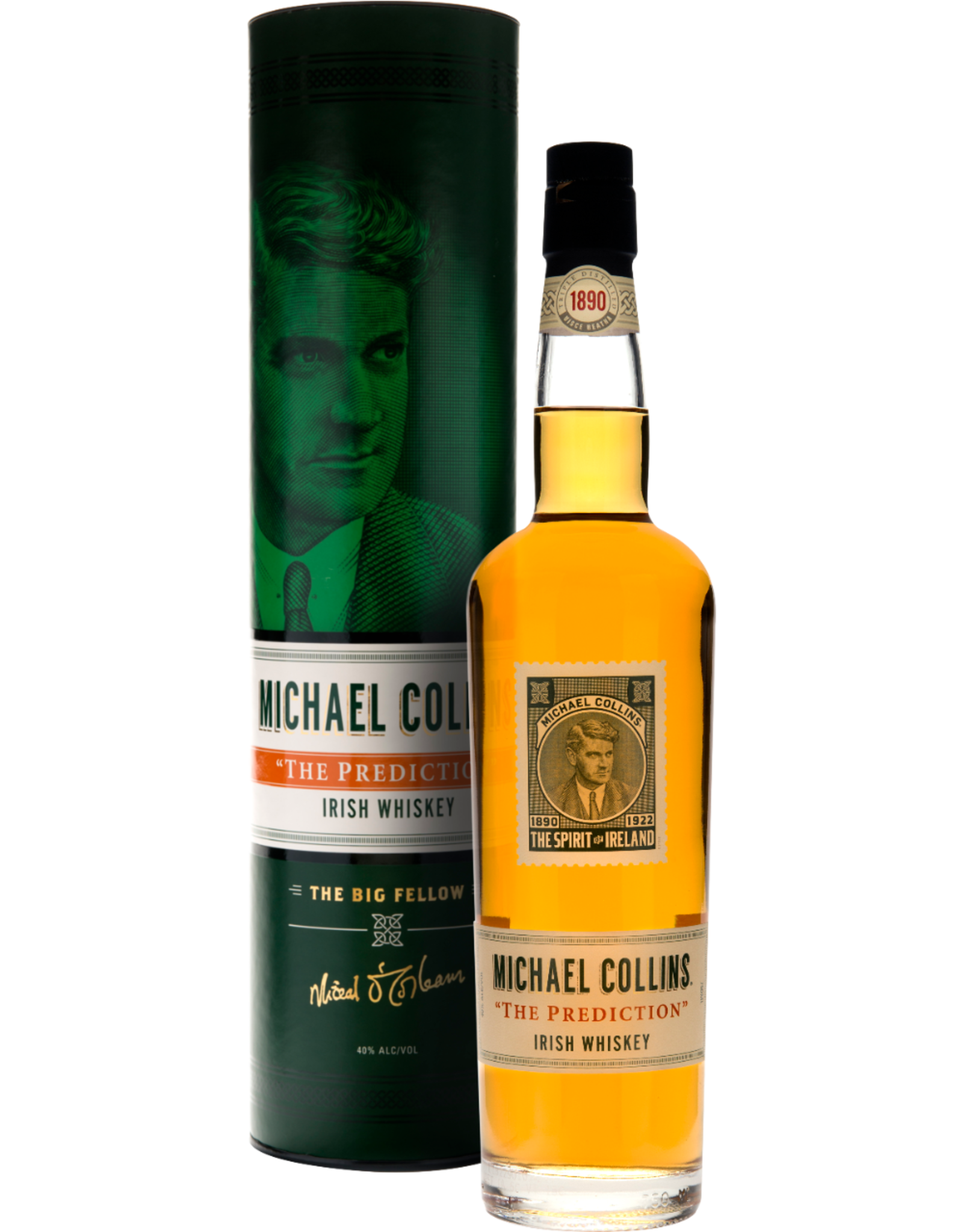 "Michael Collins ""The Prediction"" Irish Whiskey"