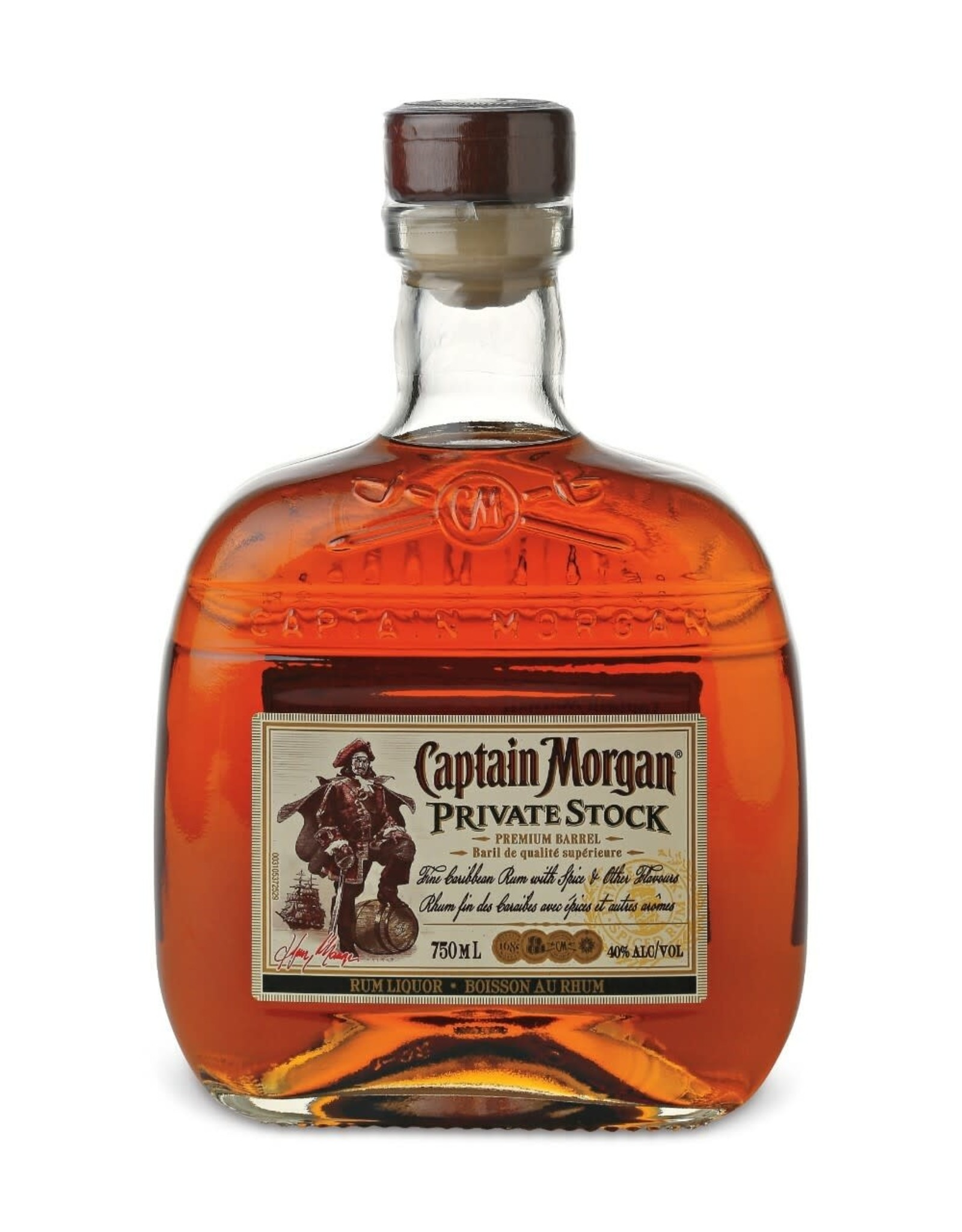 Captain Morgan Private Stock liter
