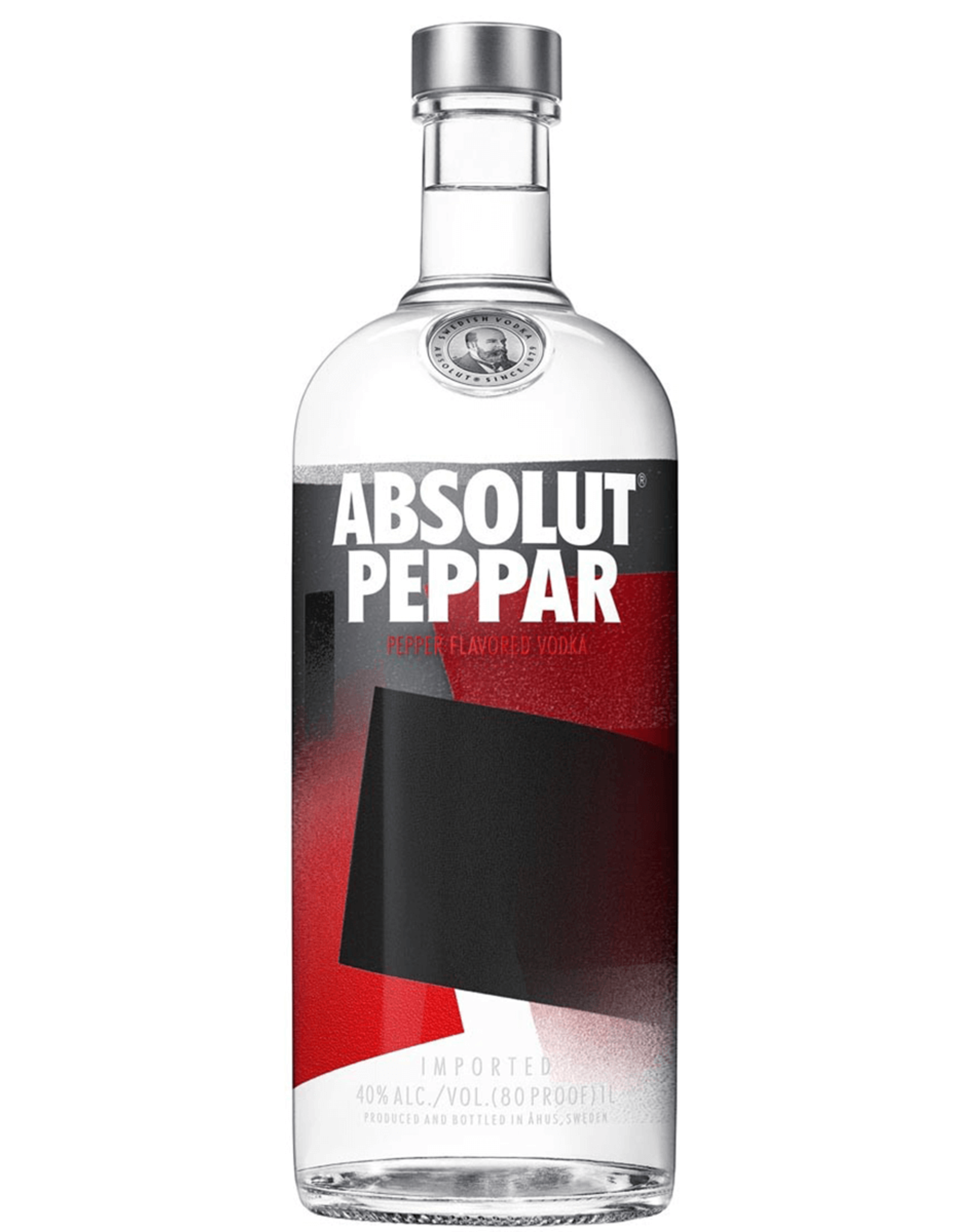 Absolut Peppar Vodka liter