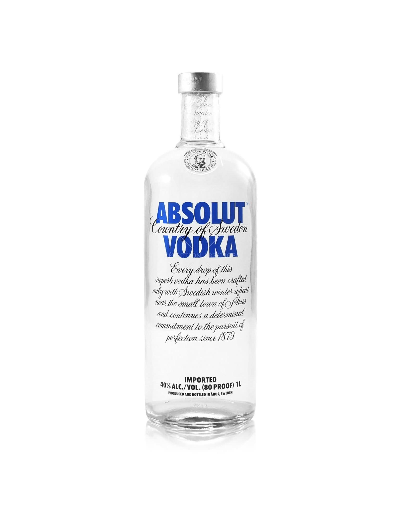 Absolut Vodka liter