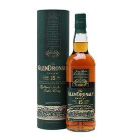 Glendronach Revival 15 year Single Malt Scotch