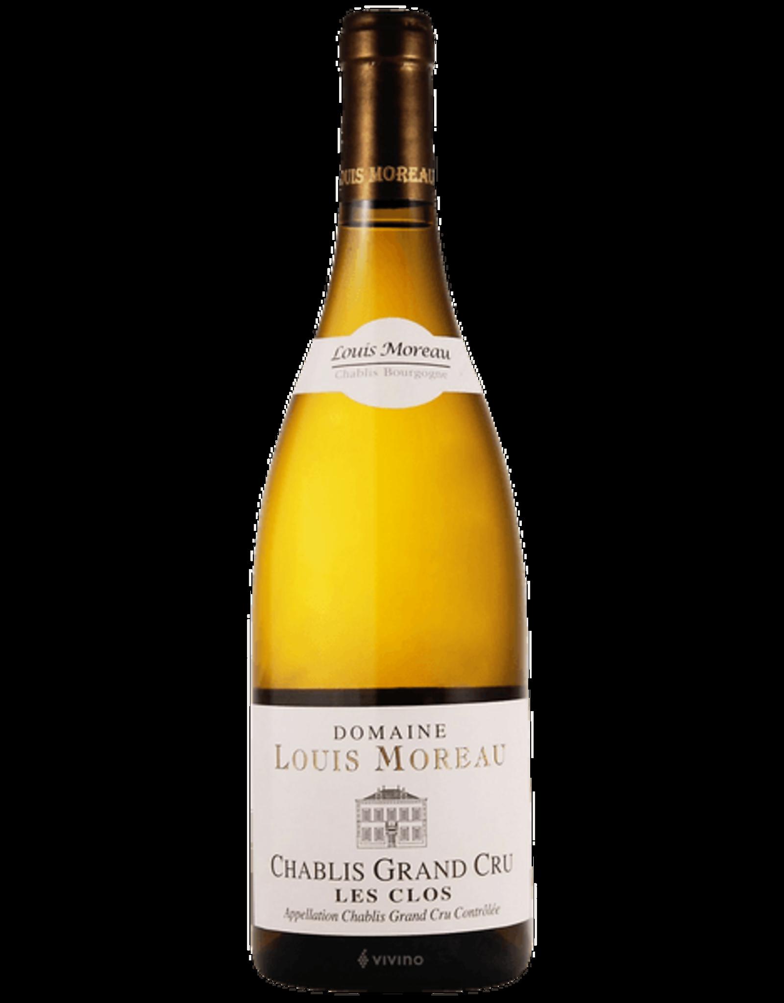 Domaine Louis Moreau Les Clos Grand Cru Chablis 2017