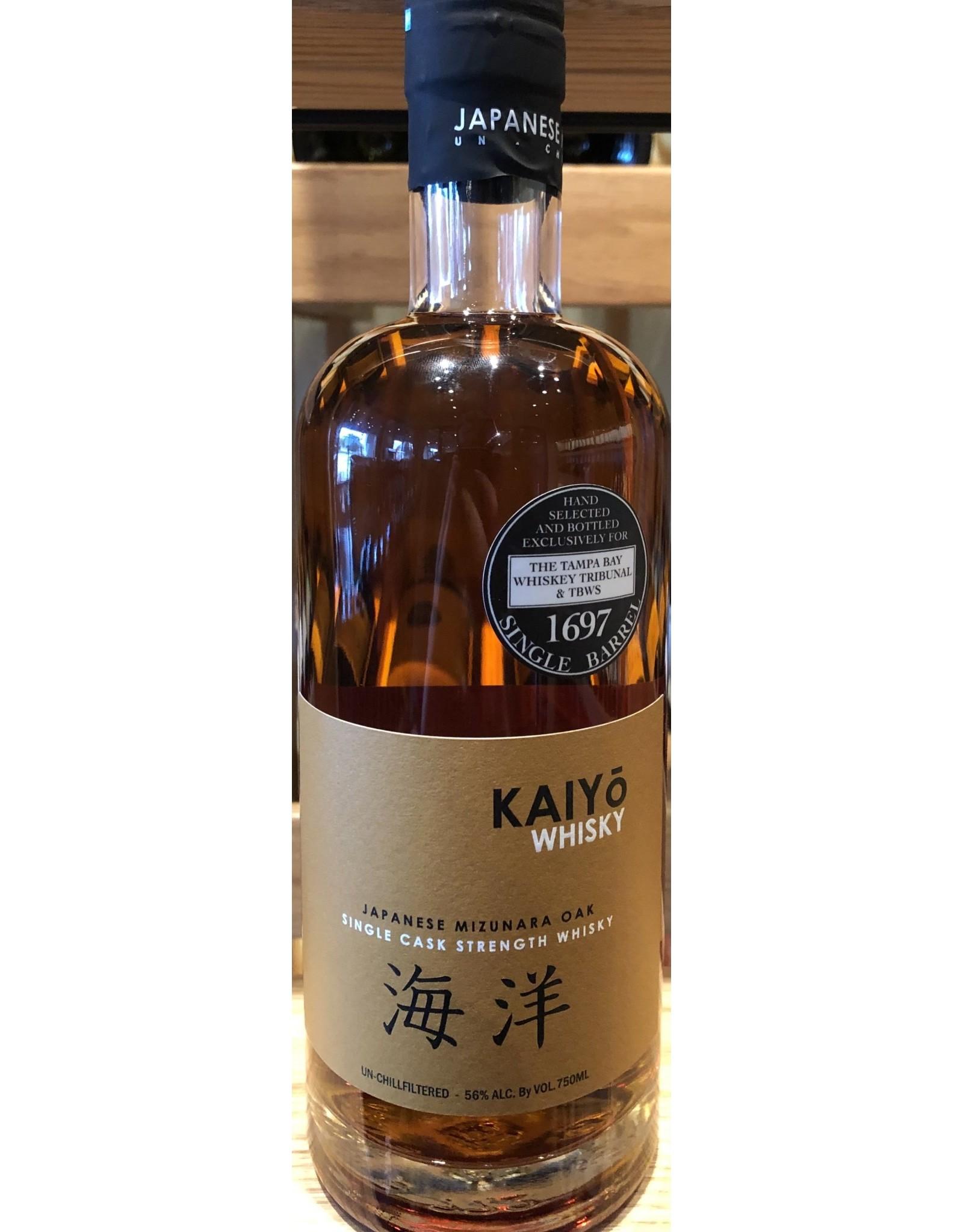 Tampa Bay Whiskey Tribunal Kaiyo Single Barrel #1697