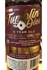 Haven and Bern's Tumblin' Dice Heavy Rye Barrel Proof Straight Bourbon