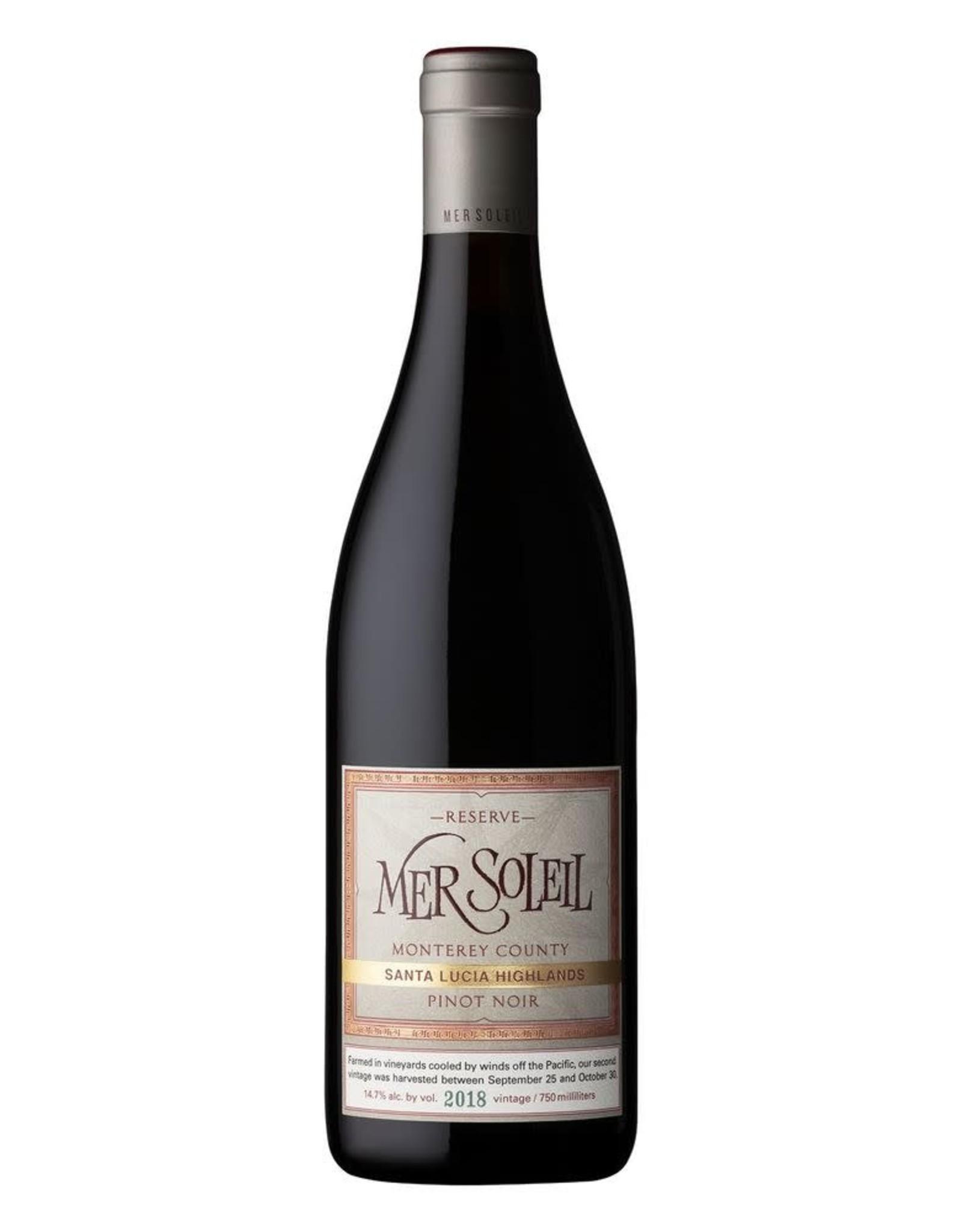 Mer Soleil Santa Lucia Highlands Reserve Pinot Noir 2018
