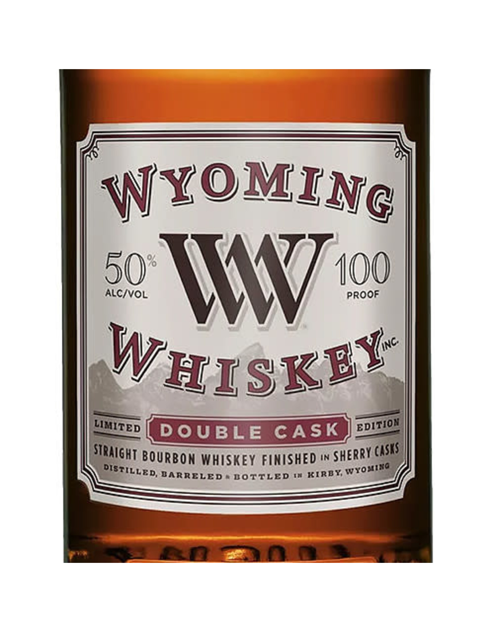 Wyoming Whiskey Double Cask Straight Bourbon