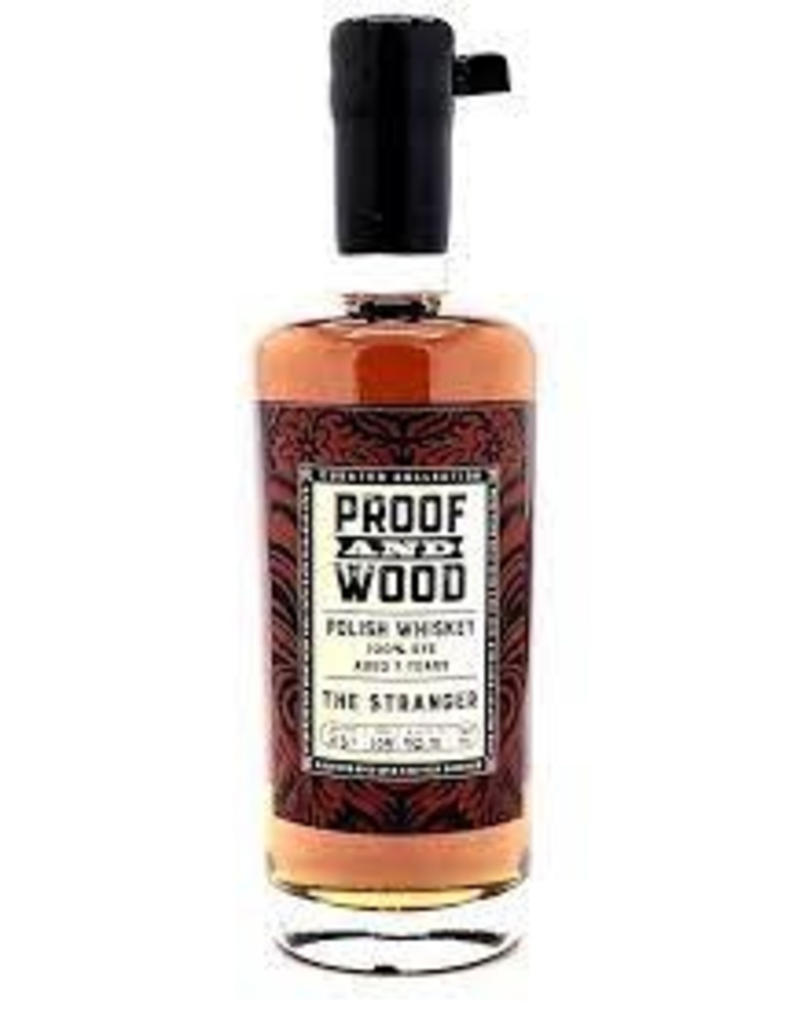 Proof and Wood 'The Stranger' Rye Whiskey
