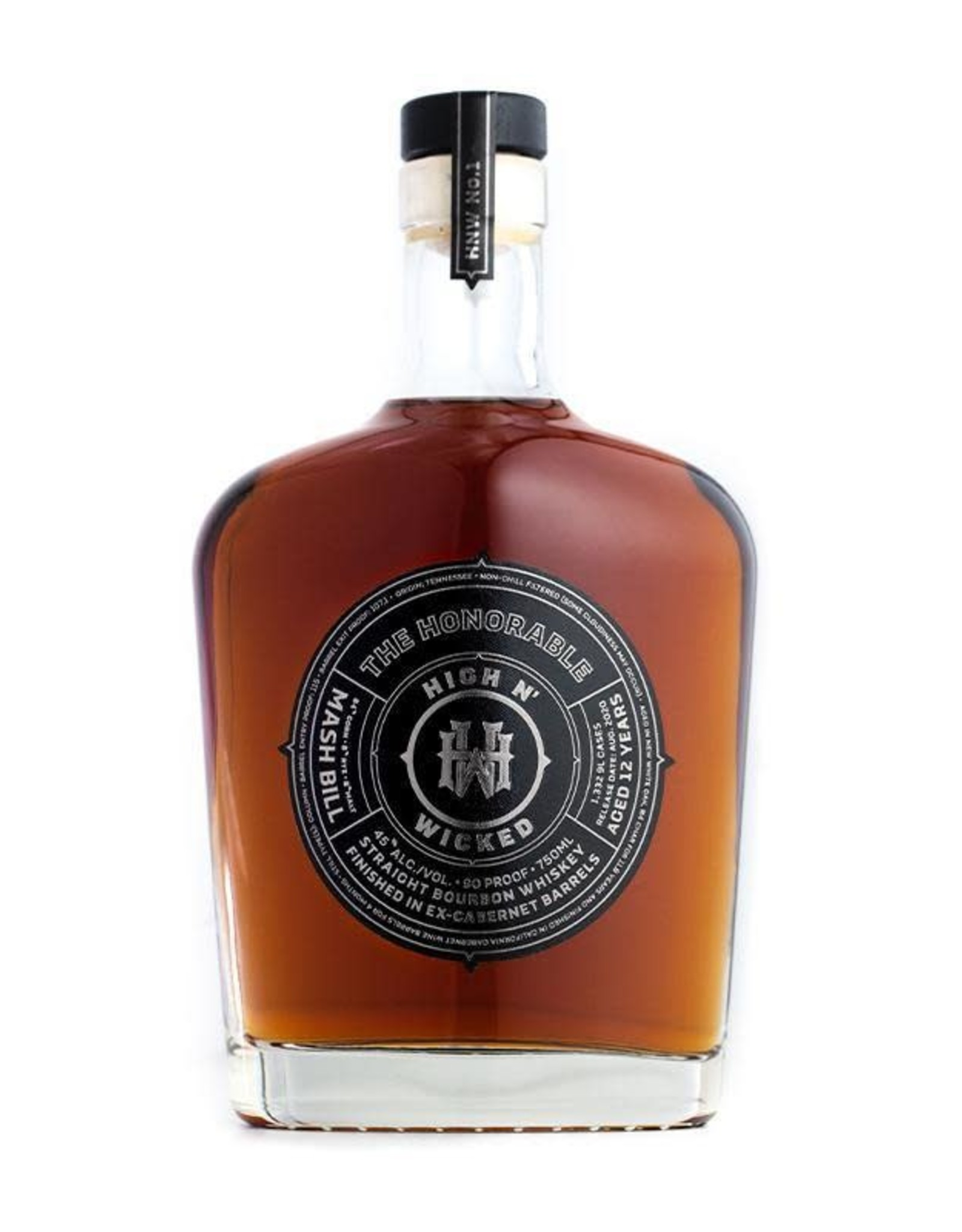 High N' Wicked The Honorable Straight Bourbon