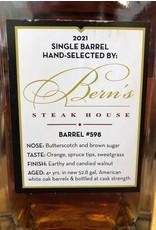 Bern's Laws Rye Whiskey Single Barrel