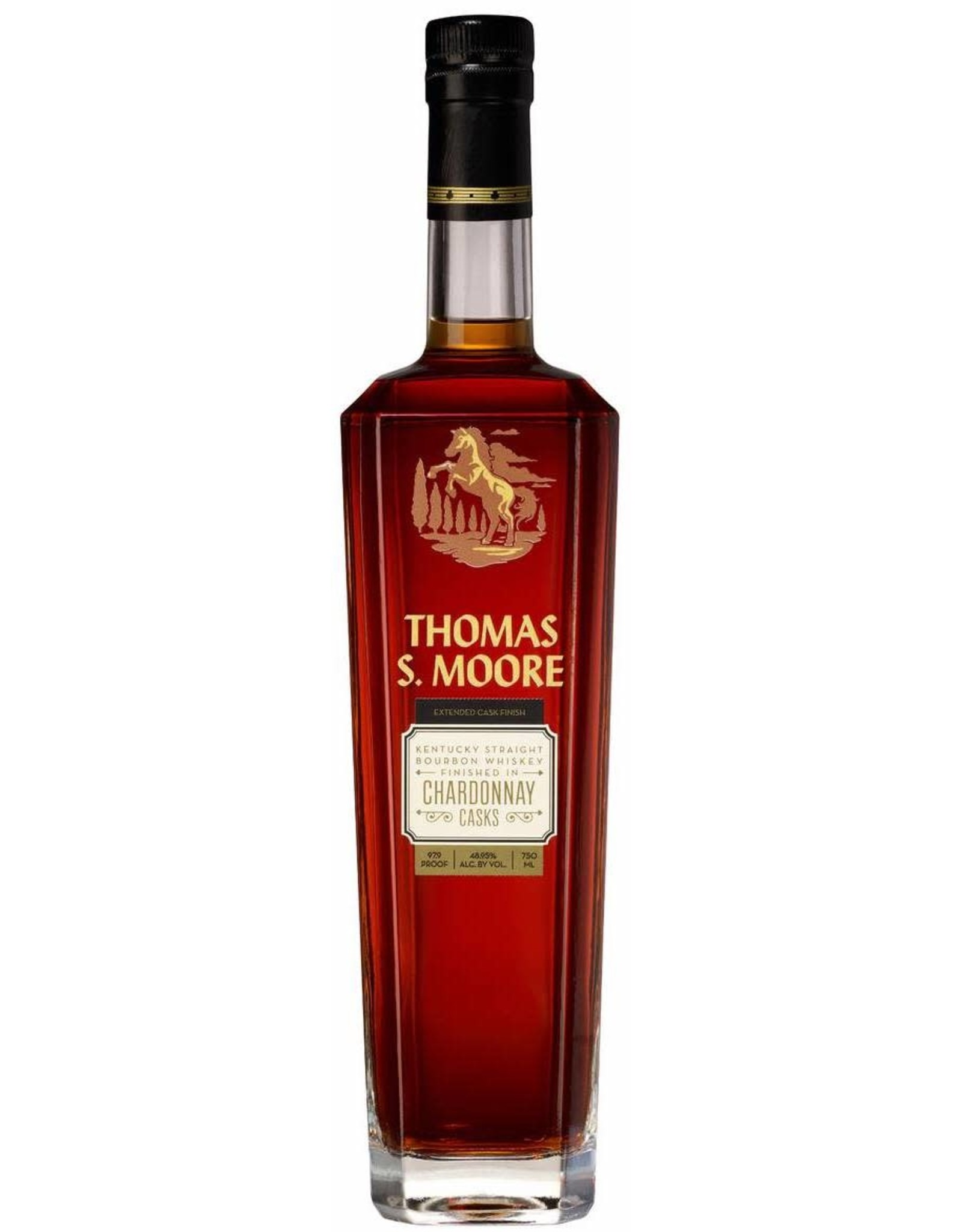 Thomas S. Moore Chardonnay Cask Bourbon