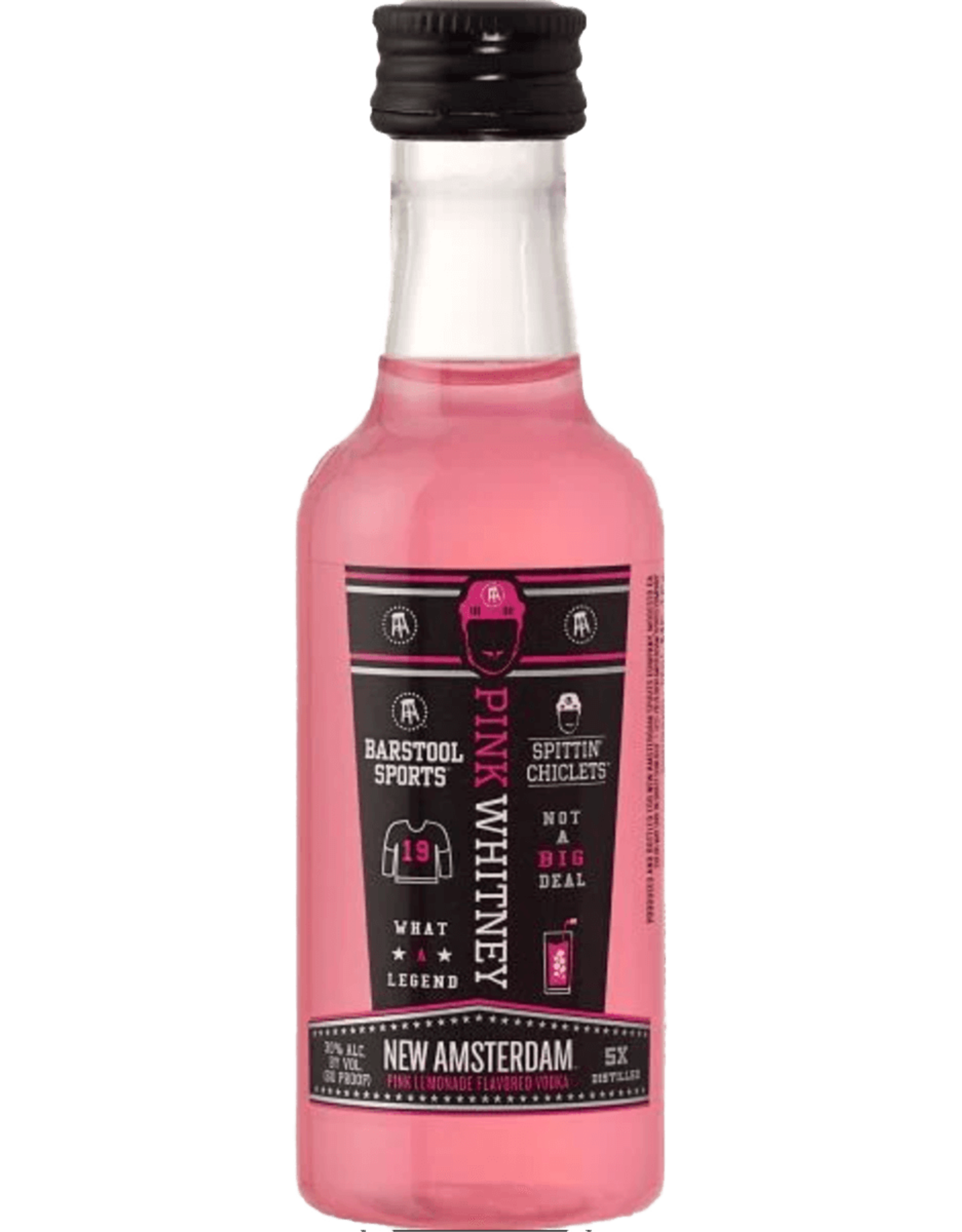 New Amsterdam Pink Whitney Pink Lemonade Vodka 50ml