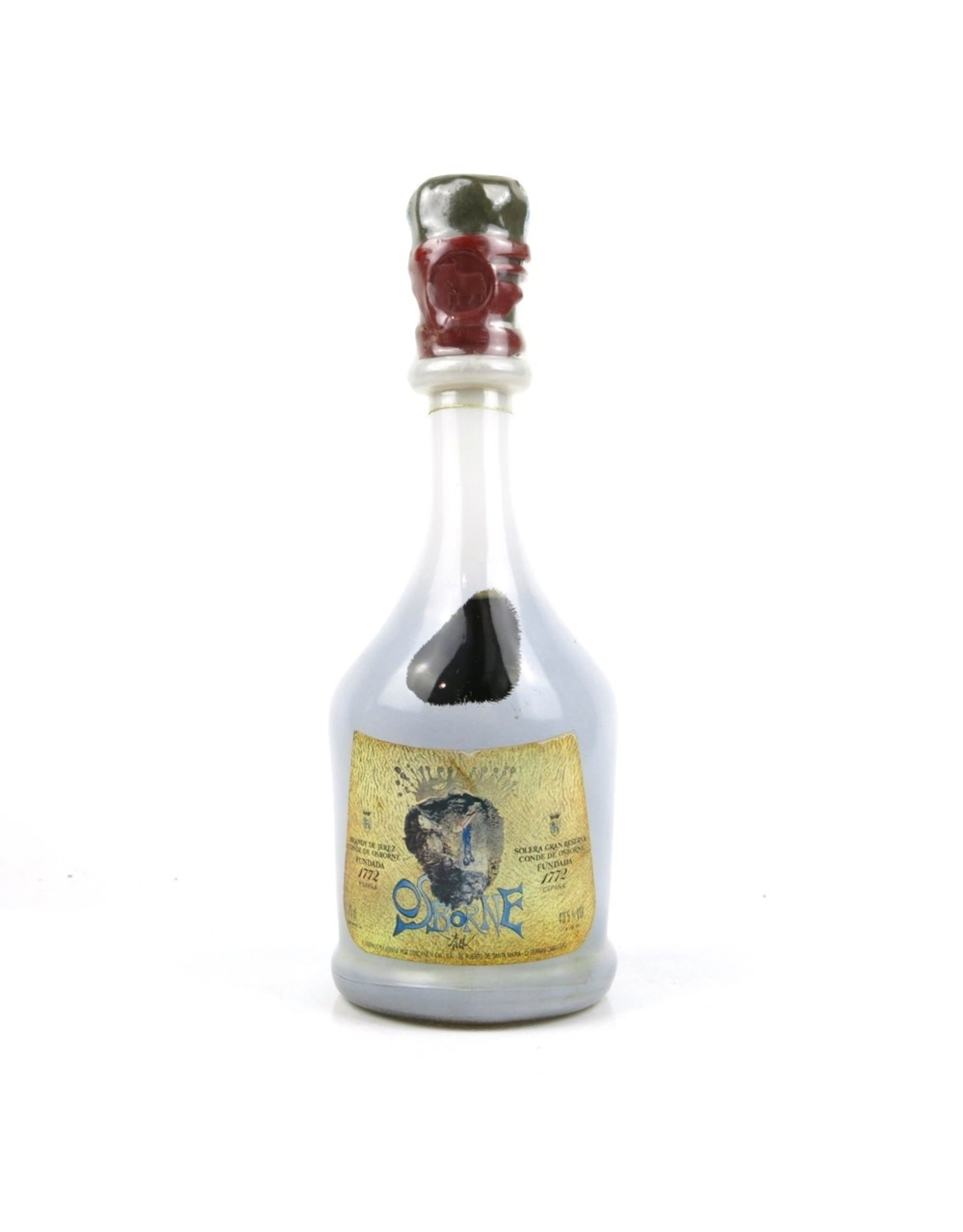 Brandy Conde de Osborne Solera Gran Reserva Brandy Dali (Bottled Late 1960s)