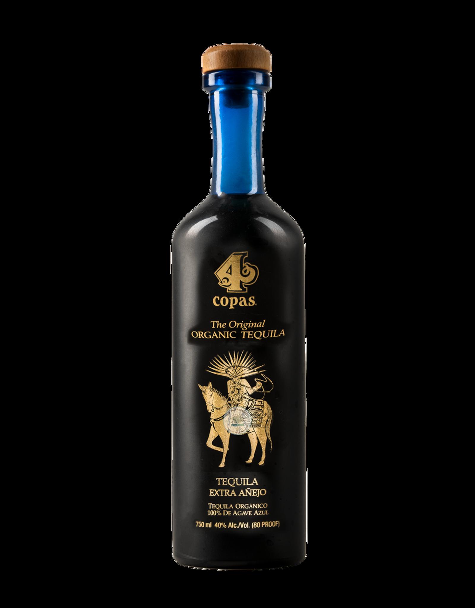 4 Copas Organic Extra Anejo Tequila