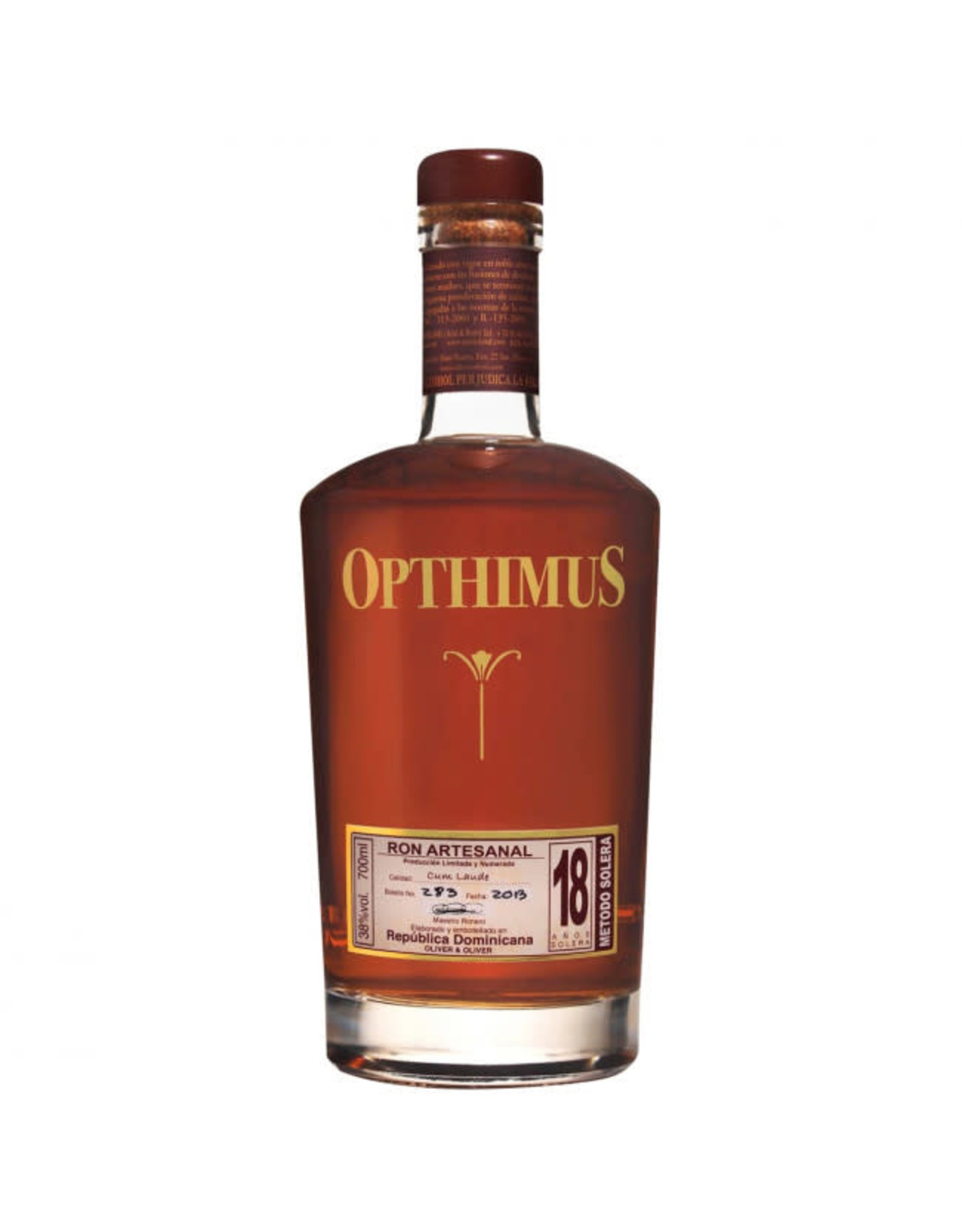 Opthimus Rum 18 year