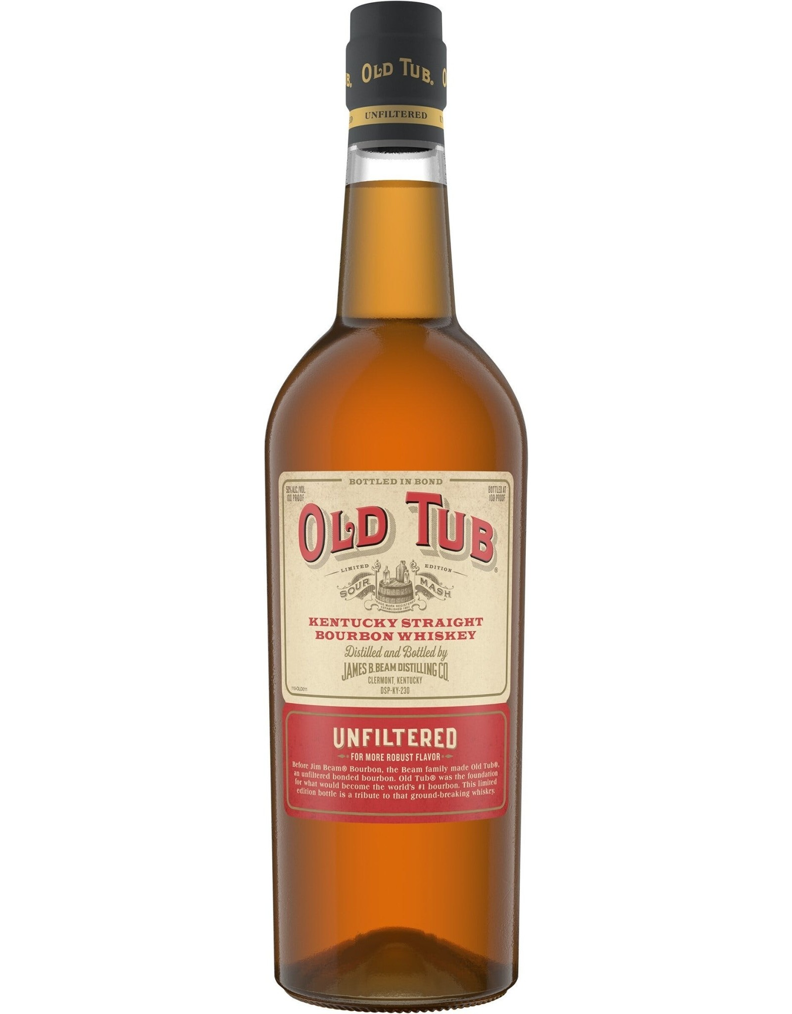 Old Tub Kentucky Straight Bourbon Whiskey Unfiltered