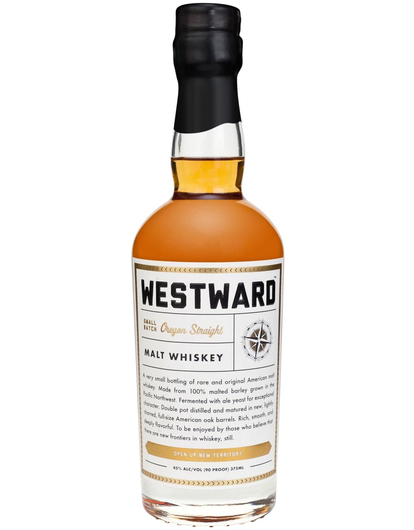 Westward Single Barrel Oregon Straight Malt Whiskey 375ml