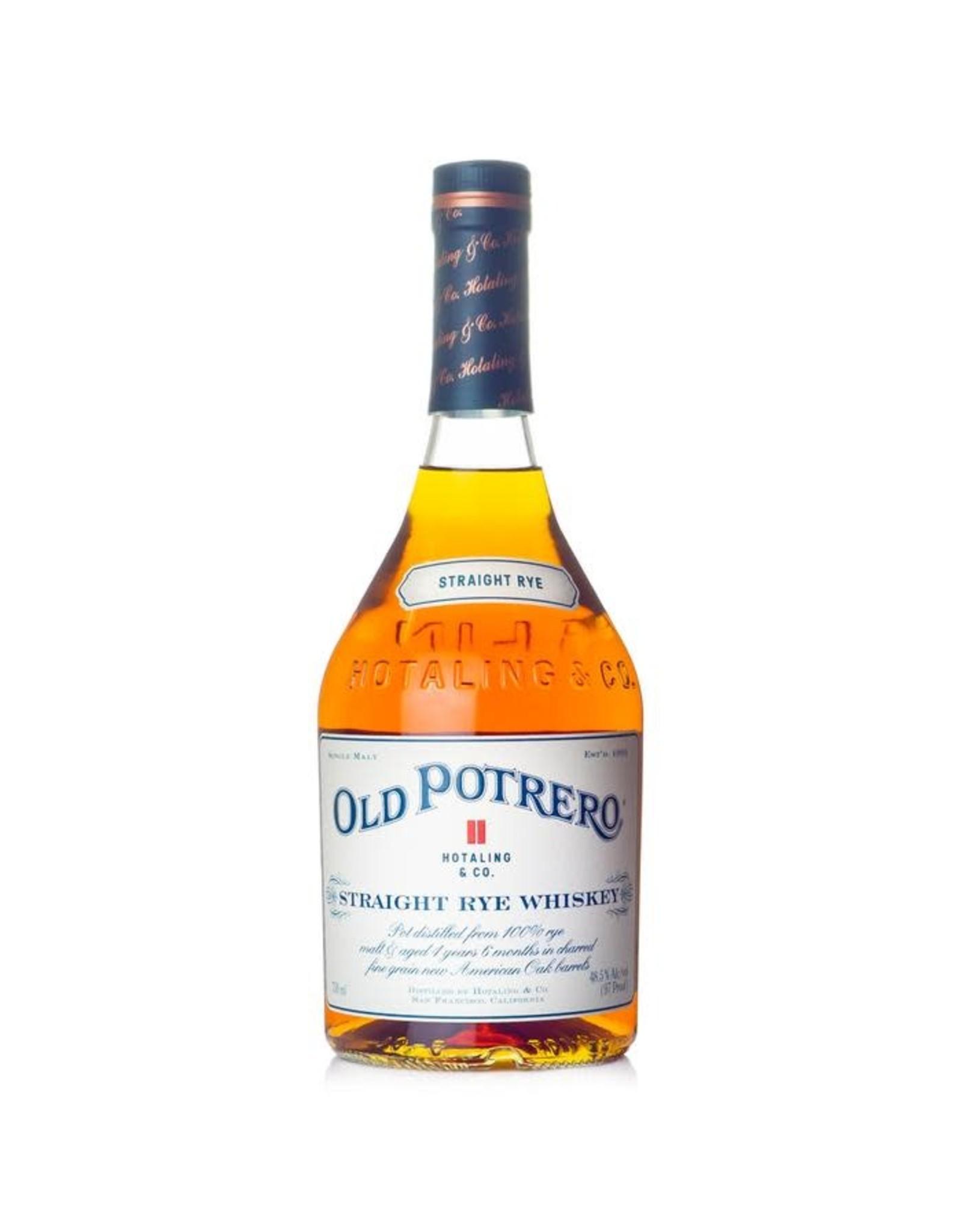Old Potrero Straight Rye Whiskey
