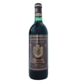 Marques De Caceres Rioja Gran Reserva 1986