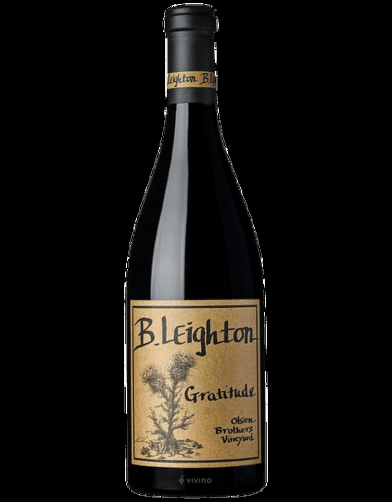 B Leighton Gratitude 2016 Olsen Brothers Vineyard