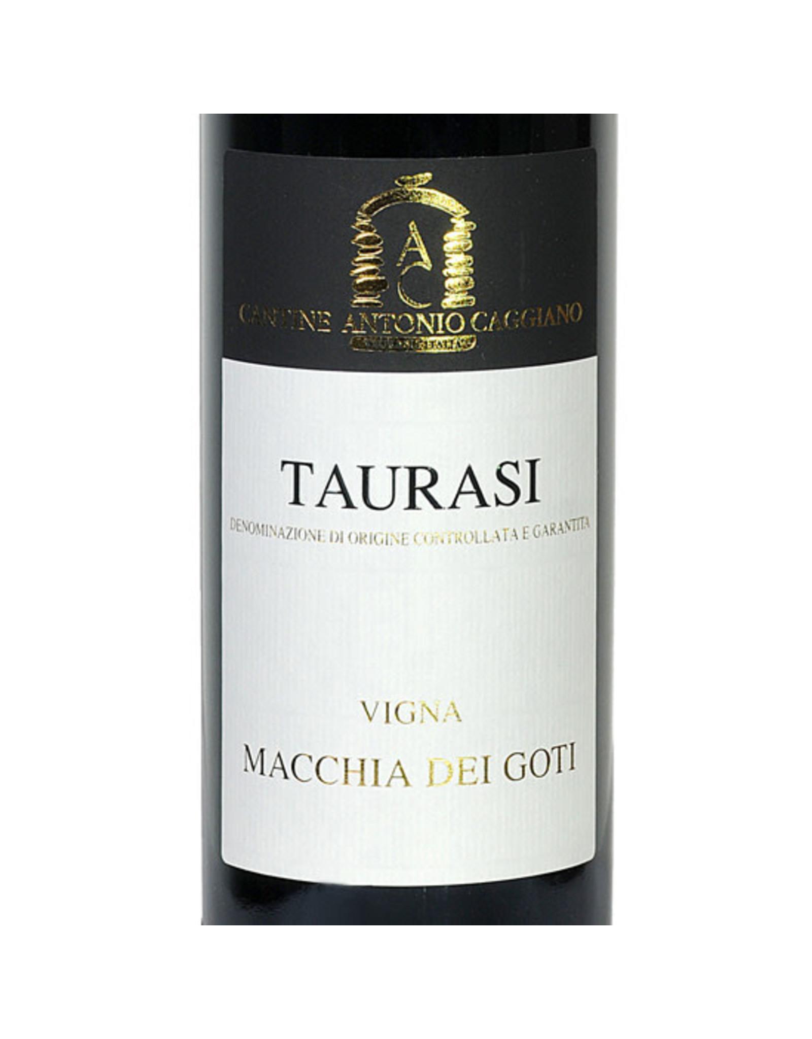 "Caggiano Taurasi ""Vigna Macchia Dei Goti"" 2016"