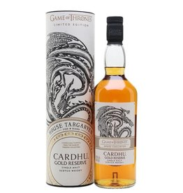 Game of Thrones Limited Edition House Targaryen Cardhu Gold Reserve