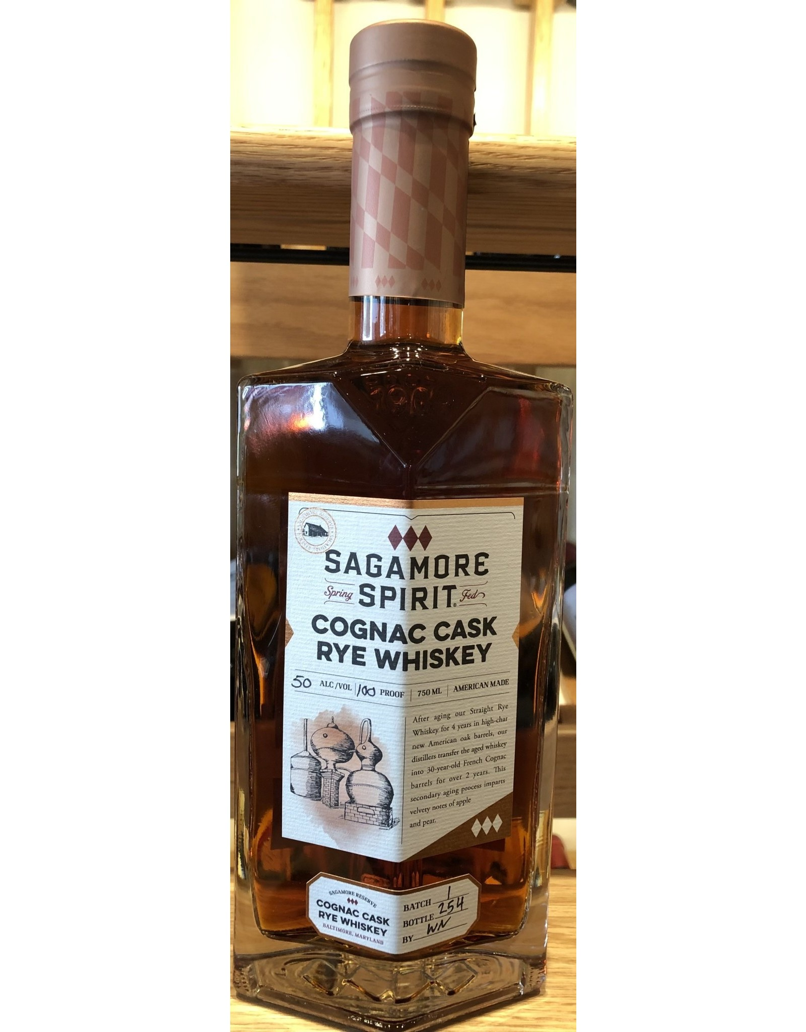 Tampa Bay Whiskey Tribunal & TBWS Sagamore Spirit Cognac Cask Rye