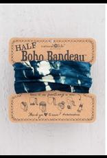 Natural LIfe Half Boho Bandeau, Indigo/Cream Tie-Dye