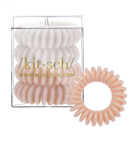 Kitsch Hair Coils 4 Pack, nude