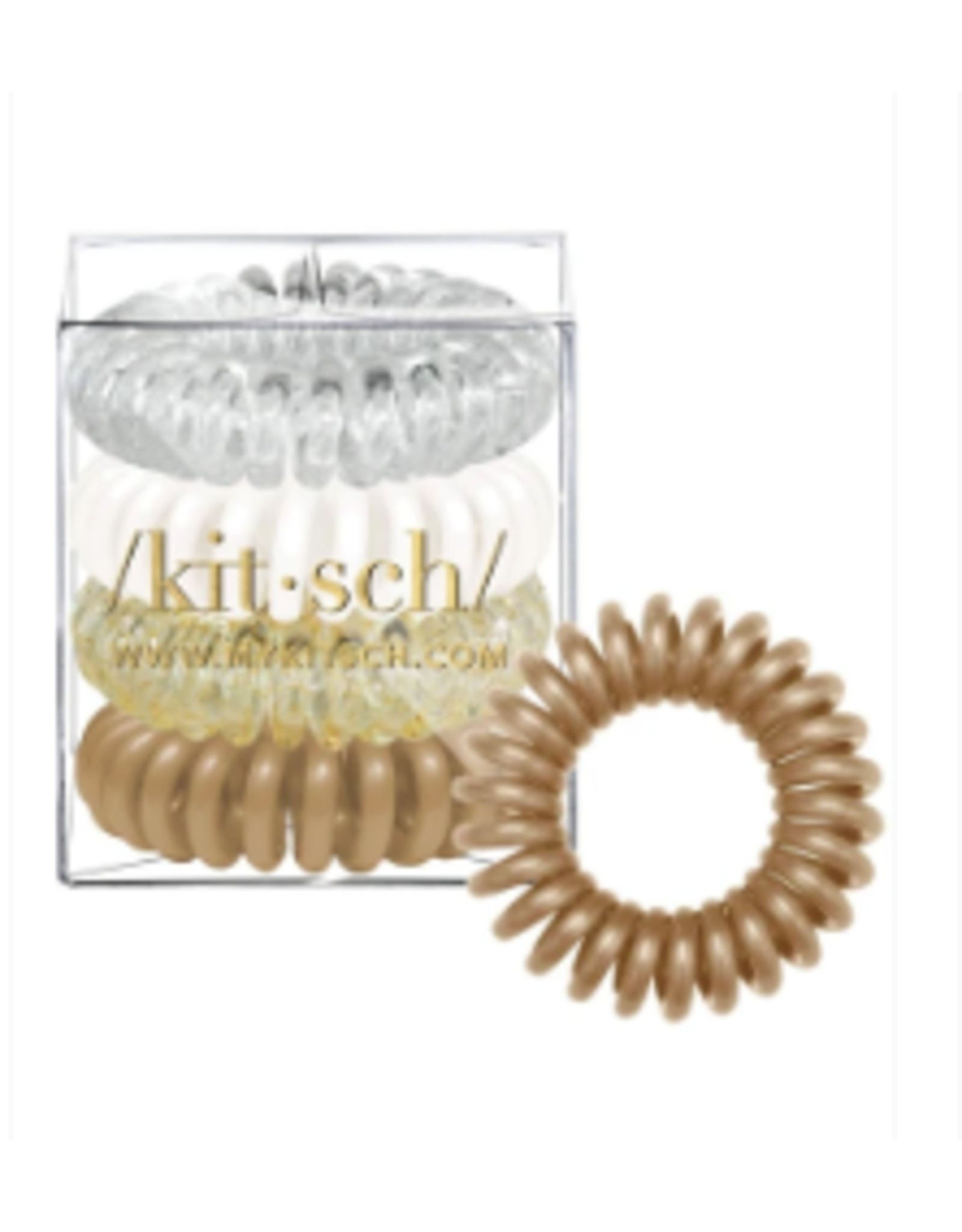 Kitsch Hair Coils 4 Pack, stargazer