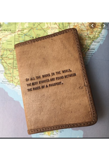 Leather Passport Cover, Of All the Books in the World