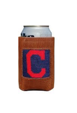 Smathers & Branson S&B Needlepoint Can Cooler, Cleveland Indians
