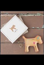 Natural LIfe Santa Fe Dish w/Box, Dog-I Ruff You