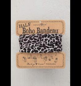 Natural LIfe Half Boho Bandeau, Grey Leopard