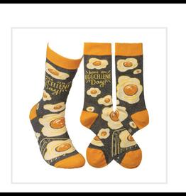 Socks, Have An Egg-Cellent Day