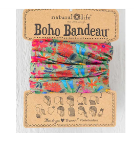 Natural LIfe Boho Bandeau, Floral Daisy