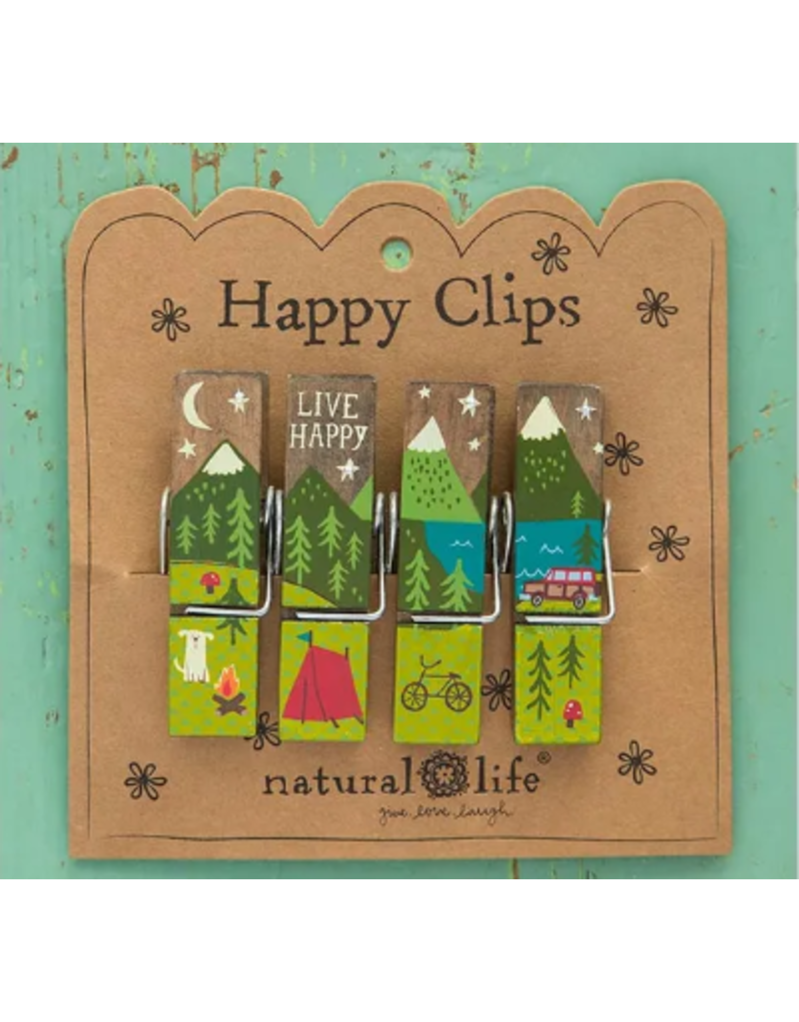 Natural LIfe Happy Clips, Live Happy