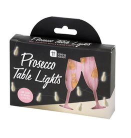 Prosecco Shaped Table Lights