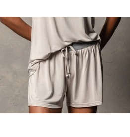 Bamboo Shorts, pebble S/M