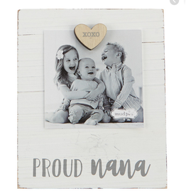 Mud Pie Magnetic Photo Frame, Proud nana