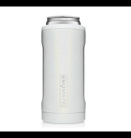 Hopsulator Slim Insulated Can-Cooler, glitter white
