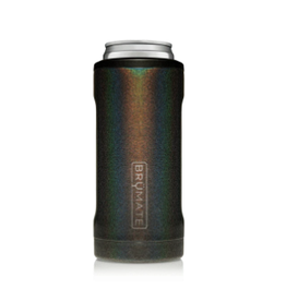 Hopsulator Slim Insulated Can-Cooler, glitter charcoal