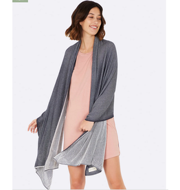 Cozy Knit Wrap, storm