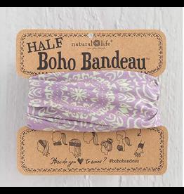 Natural LIfe Half Boho Bandeau, Lavender Cream Mandala