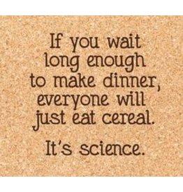 Cork Coaster, Cereal