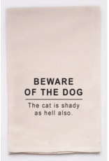 Flour Sack Towel, Beware of the Dog
