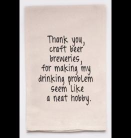 Flour Sack Towel, Craft Beer