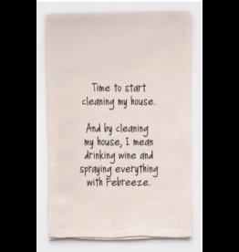 Flour Sack Towel, Febreeze