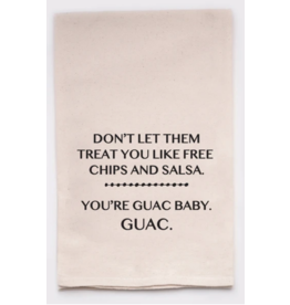 Flour Sack Towel, Guac Baby