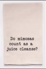 Flour Sack Towel, Juice Cleanse