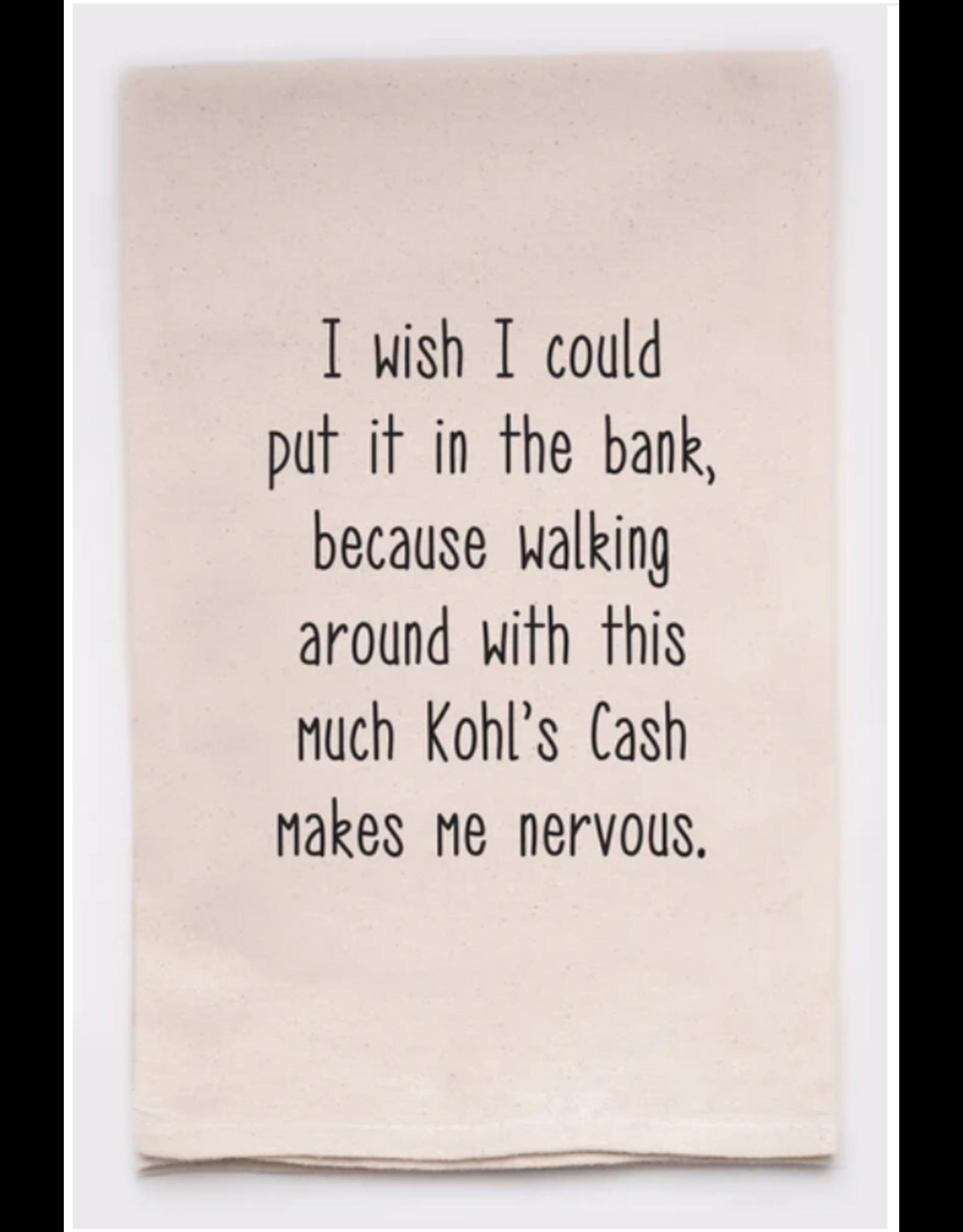 Flour Sack Towel, Kohl's Cash
